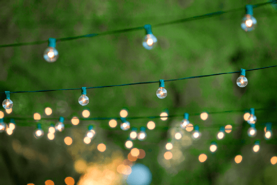 21 Illuminate your garden with outside lighting