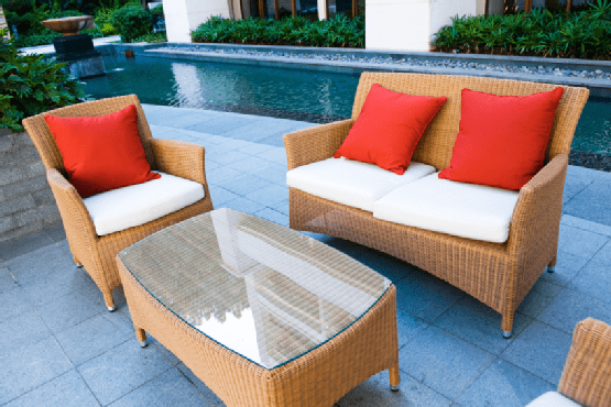 Modern Outdoor Comforts: Cane Furniture