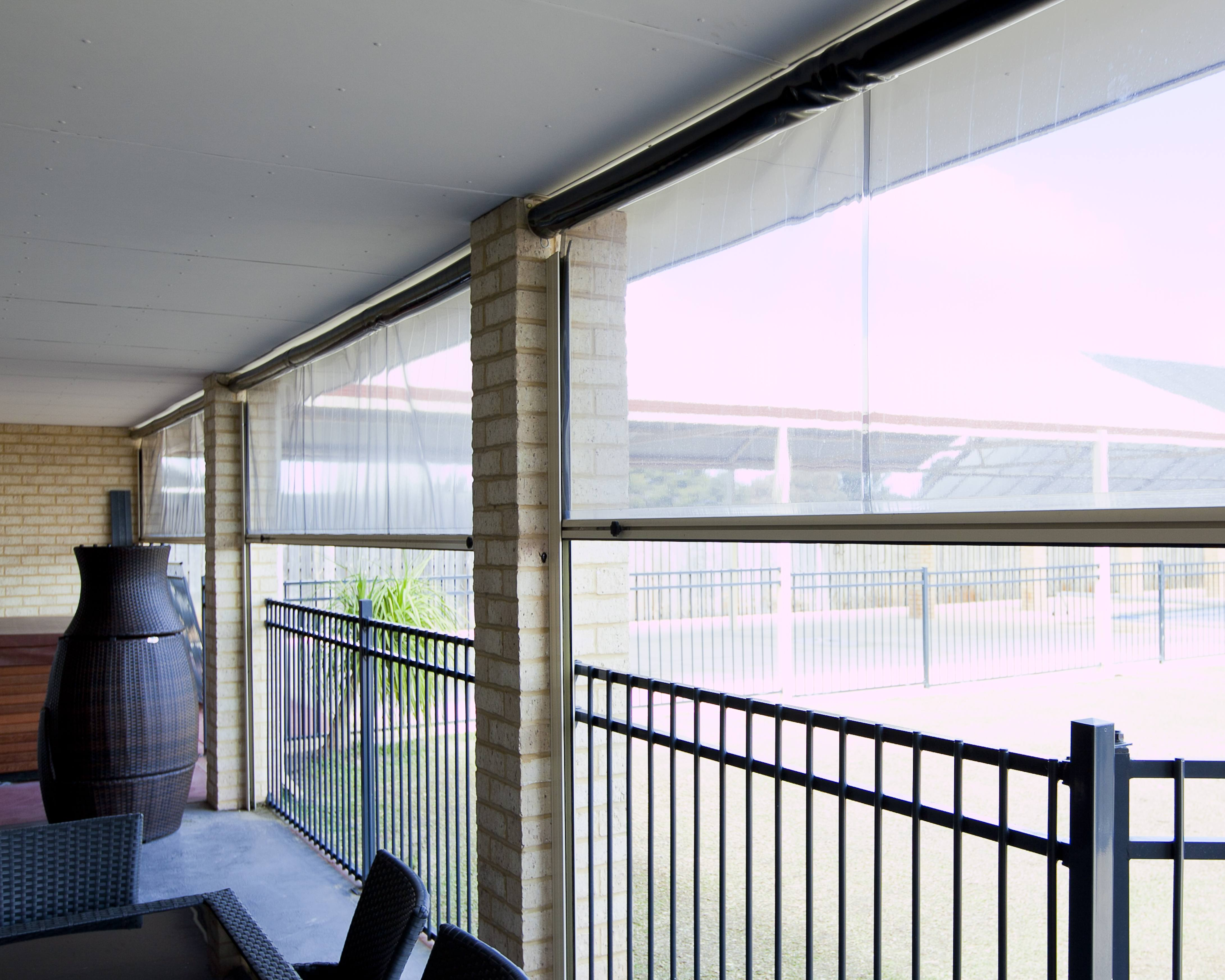 Transparent Alfresco Blinds Perth WA