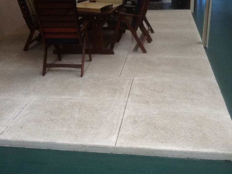 Liquid Limestone For Patio Flooring