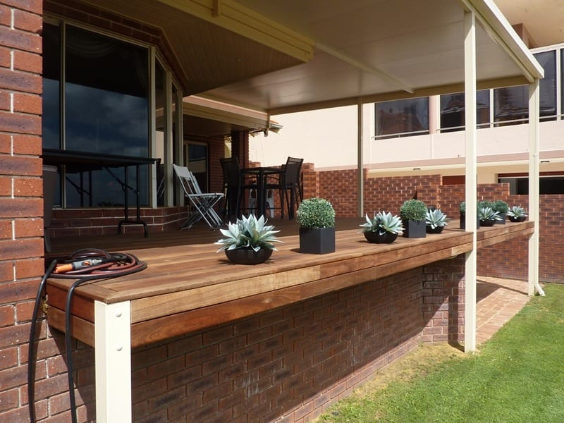 Outdoor Decking Under Patio In Perth