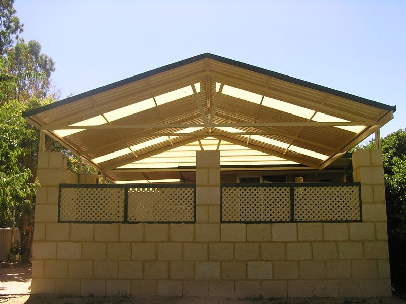 GABLE PATIO Perth 6
