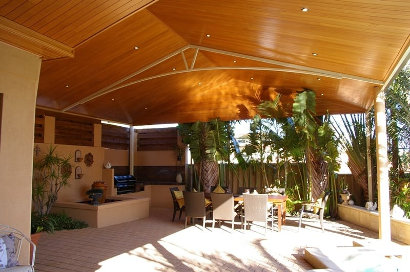 Steel Patio With Coverstrip Joinery In Perth