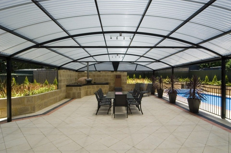 Dome Patio With Natural Light